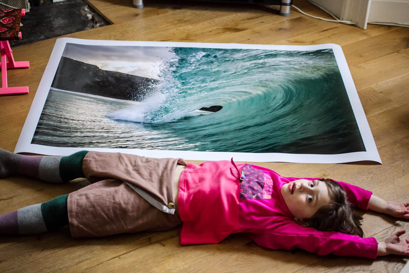 large format surf prints